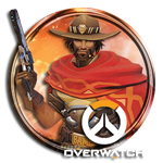 Overwatch Mccree Icon by Troublem4ker