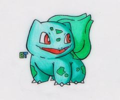 #001 - Bulbasaur by GTS257-CT