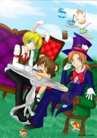 mad hatter's tea party by mentos04
