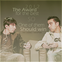 The Award for the Best :3 by w6n3oshaq