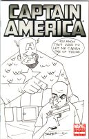 Cap sketch cover by LanceSawyer