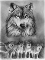 Wolf Leader by TheMysticWolf