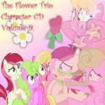 The Flower Trio Album Cover 9 by YuiRainbowStar