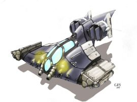 M1 SeaRay Fighter Concept by Galiford