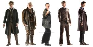 The Five Doctors by OptimumBuster