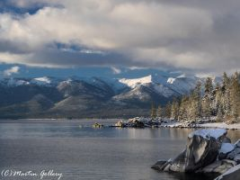 Lake Tahoe Nevada snow150301-115 by MartinGollery