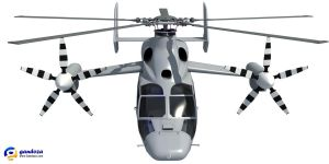 Eurocopter X3 Helicopter 3D Model by Gandoza
