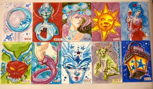 Sketch-Cards by pauscorpi