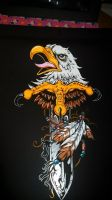 Eagle motorcycle fairing design (commissioneed) by legion187
