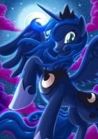 MLP: Princess Luna Color by SemajZ