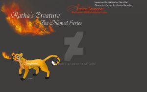 Rathas Creature -The Named Series -Characters by JB-Pawstep