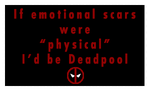 Deadpool Stamp by Okitakehyate