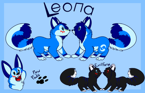 Leona Reference by DuctTapeMaiaWolf