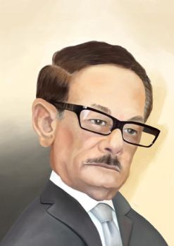 Safwat Alsheref Caricature by mgaber