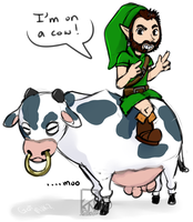 I'm on a hors- Cow by Kinla