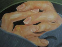 Hand Study by Metty