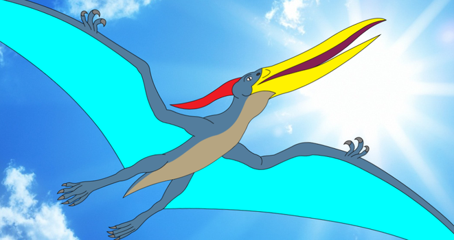 Pteranodon Leader of the Sky by Artapon