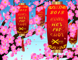 Exoro Choice's 2013 Chinese New Year Cards 18 by ExoroDesigns