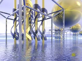 Power Plant by fractalyst