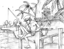 Captain of Plastic Beach by Crispy-Gypsy