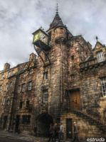 Edinburgh Street Buildings 5 by Estruda