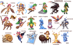 Sohei's monstergirl collection by iSohei