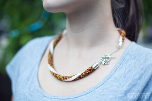 Necklace Mottled by Vigonett