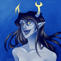 Vriska Serket by Biology-of-Pencils