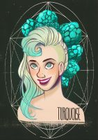 Birthstones: Turquoise by StressedJenny