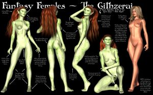 Fantasy Females - The Githzerai by Sailmaster-Seion