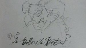 beauty and the beast by Miry-1993