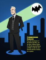 Batman 1966 - Comm. Gordon by SeriojaInc