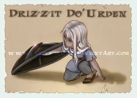 FR_Drizzit Do' Urden_Shield by AnitsircCAF