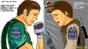 Chris x Piers : The Agony of Parting by Semantot