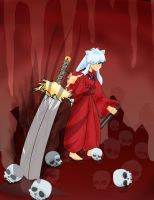 Inuyasha In Hell by metalgearhead123