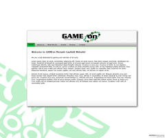GAMEon Monash Website by aNdre-W