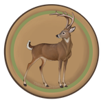 Camp Badges: Deer Tribe by Tattered-Dreams