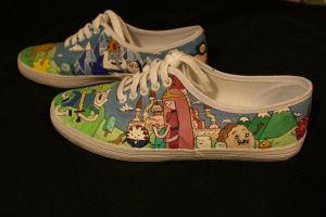 Adventure Time Shoes 3 by Simonbagel