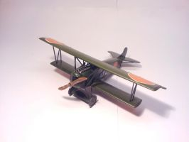 Dutch Fokker D.VII MLD 007 by BlokkStox