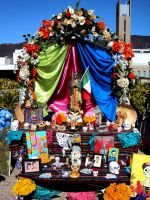Day of The Dead Altar by Humble-Novice