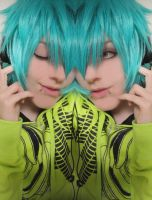 Hatsune Mikuo- Duelcasting by KyoyaxL