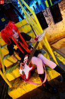 Backstage - Gurren Lagann by Mostflogged