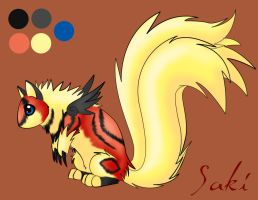 Saki Mini Ref by ThatWildMary