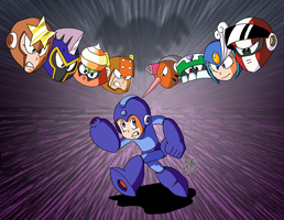 Rockman World 6 by TuxedoMoroboshi