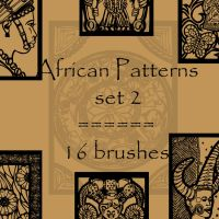 African patterns 2 by rL-Brushes