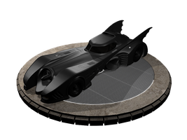 Batmobile - Front of Turntable by garyjsmith