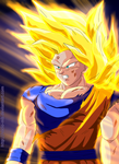 Goku Full Power by rocio-mb