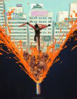 Sunset Overdrive Art Vasili Zorin by MatrixUnlimited
