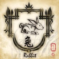 Chinese Zodiac : Rabbit by MPtribe