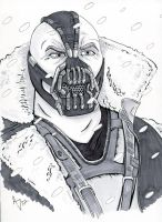 Bane from Dark Knight Rises by AtlantaJones